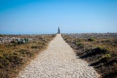 Путь к маяку стоковые изображения