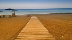 Путь к морю стоковое фото