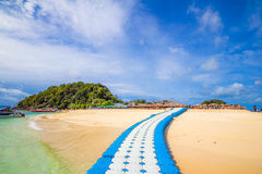 Путь к острову Nai Kai Koh Стоковые Изображения