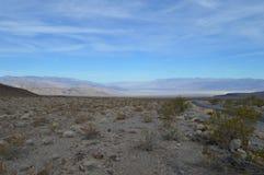 Путь к Panamint и Death Valley Калифорнии Стоковое фото RF