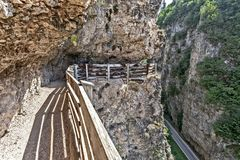 Путь к romedio san Стоковое фото RF