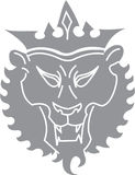 путь льва клиппирования Стоковое Изображение RF