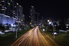 Путь морского побережья Панамы пешеходный Стоковое Изображение RF