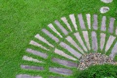 Путь на траве Стоковая Фотография RF