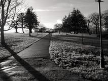 Путь ноги водя до дворца Александры Стоковые Изображения RF