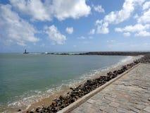 путь океана к Стоковое Изображение