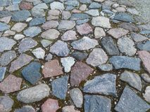 Путь от камней Стоковые Фото
