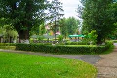 путь парка города Стоковые Изображения RF