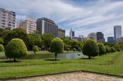 путь парка города стоковое фото rf