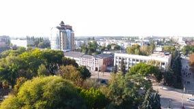 путь парка города сток-видео