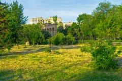 путь парка города Стоковое Фото