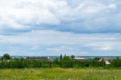 путь парка города Стоковое Изображение