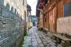 Путь переулка страны Стоковая Фотография RF