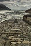 путь пляжа к Стоковые Фото