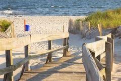 путь пляжа Стоковое фото RF