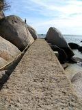 путь пляжа Стоковое Изображение