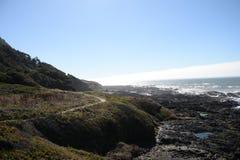 Путь побережья Стоковые Фото