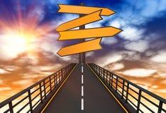 Путь пойти Стоковые Фото