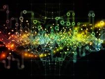 Путь потока информации Стоковые Изображения RF