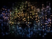 Путь потока информации Стоковые Изображения