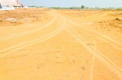 Путь почвы в сельской стране Стоковое Фото