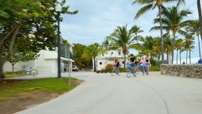 Путь 9 привода океана пешеходный сток-видео