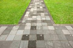 путь прогулки Стоковые Изображения