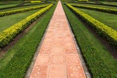 Путь прогулки в парке Стоковое фото RF