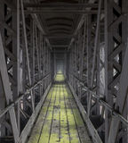 Путь прогулки литого железа Стоковые Фотографии RF