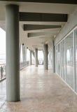 Путь прогулки на офисном здании Стоковое Фото