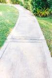 Путь пути сада Стоковое Фото