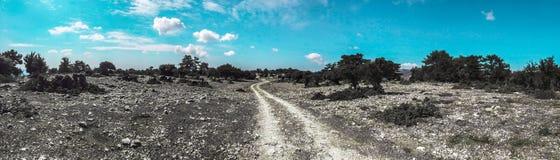 Путь пыли Стоковые Изображения