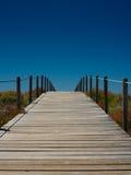 путь пляжа к Стоковое Фото