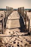 Путь пляжа Стоковые Изображения