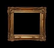 путь рамки золотистый Стоковое Изображение RF