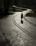 путь ребенка Стоковая Фотография RF