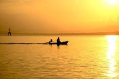 Путь рыболовов Стоковая Фотография