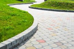 Путь сада каменный Стоковая Фотография RF