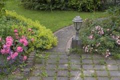 Путь сада Стоковые Изображения