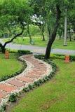 Путь сада каменный Стоковые Фото