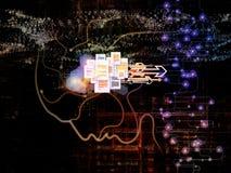 Путь сознавания машины Стоковое фото RF