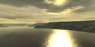 путь солнца Стоковые Фото