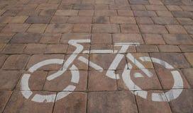 Путь цикла, велотрек Стоковые Фотографии RF