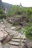 Путь через горы Стоковые Изображения RF