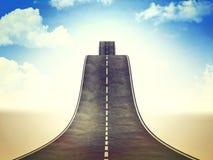 Путь для неба Стоковые Изображения