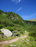 путь alps Стоковые Изображения RF