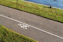 Путь Bike Стоковые Фотографии RF