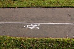 Путь Bike Стоковые Фото