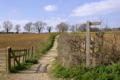 путь cotswold Стоковое фото RF