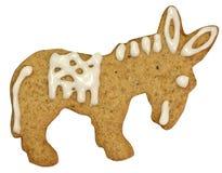 путь gingerbread осла клиппирования Стоковое Фото